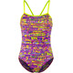 Funkita Single Strap One Piece Swimsuit Women Dotty Dash